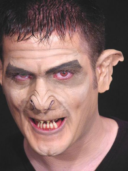 Prosthetic Nose Ghoul Skin Colour Scary Creepy Halloween